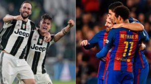 Prediksi Juventus vs Barcelona 12 April 2017