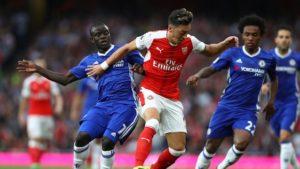 Prediksi Chelsea vs Arsenal 17 September 2017